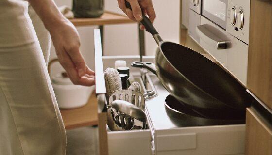調理の流れをスムーズにしてくれる料理がもっと楽しくなる