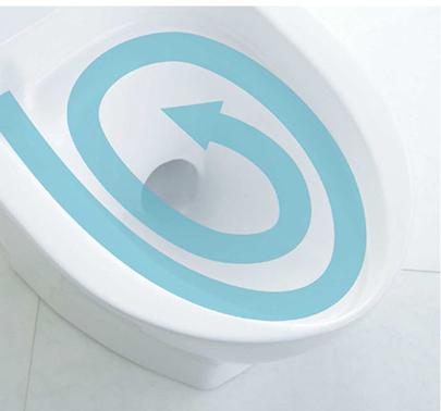 サイクロン洗浄できれいに、しかも節水対応