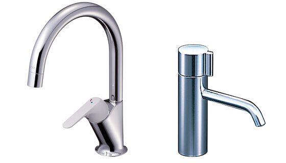 選べる水栓バリエーション