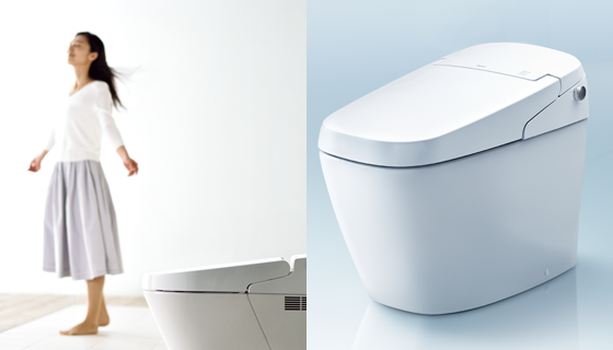 空間を広げる、空間に調和する。トイレをもっと自分らしく