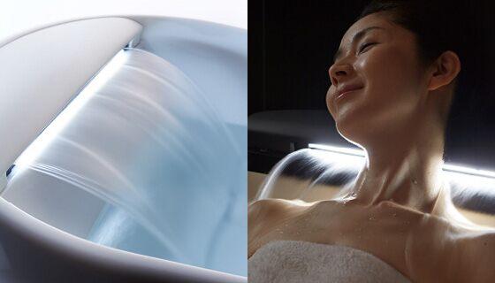 肌をなでるお湯、かつてない快感入浴を